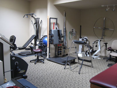 Premier Healthcare Physical Therapy Room